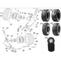 5 - ROUES ARRIERE SHIFTER G500