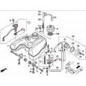 11 - RESERVOIR CARBURANT HY550 4x4