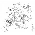 2 - CARROSSERIE AVANT HY550 4x4 EFI