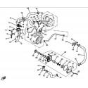 27 - ENSEMBLE POMPE A EAU HY550 4x4 EFI