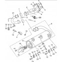 49 - ENSEMBLE ECHAPPEMENT JOBBER 700 4x4