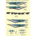 63 - AUTOCOLLANT DECORATION 2014 CFORCE 800
