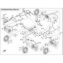 40 - FREIN PLAQUETTES MAITRE CYLINDRE UFORCE 550