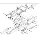 15 - BOUCLE ARRIERE - ECHAPPEMENT A333