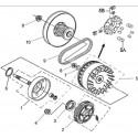 12 - VARIATEUR - EMBRAYAGE A500i 2013