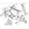 26 - SUSPENSION ARRIERE GAUCHE S800 i