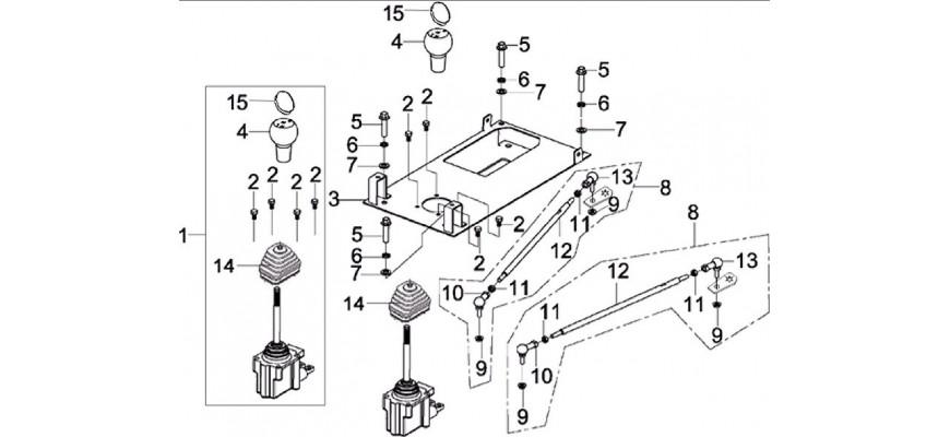 11 - TRINGLERIE DE VITESSES JOBBER 4x2 4x4