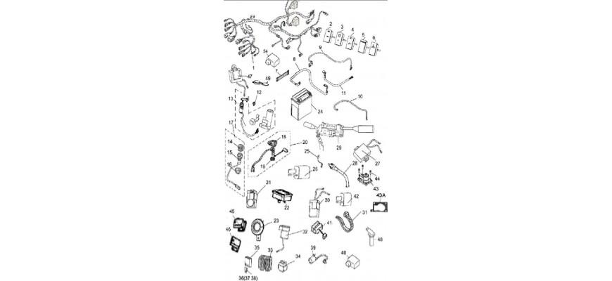 24 - SYSTEME ELECTRIQUE JOBBER 4x2 4x4