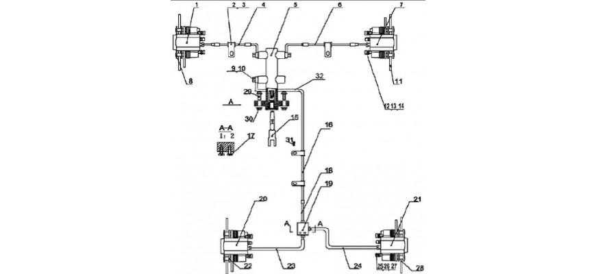 25 - SYSTEME DE FREINAGE JOBBER 4x2 4x4